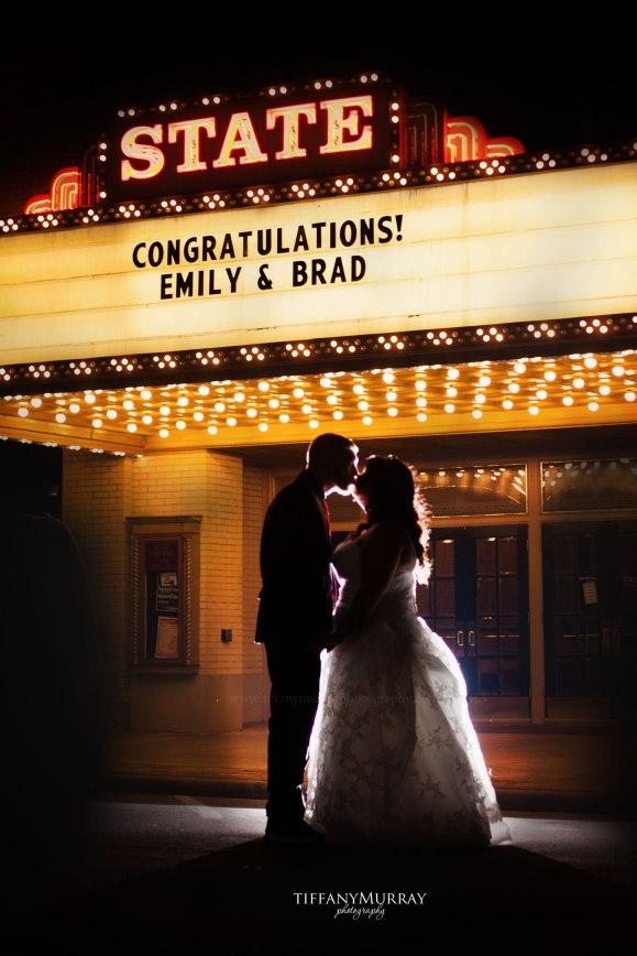 Murray theater wedding
