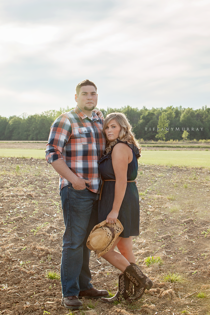 Country Couple – Tiffany Murray Photography
