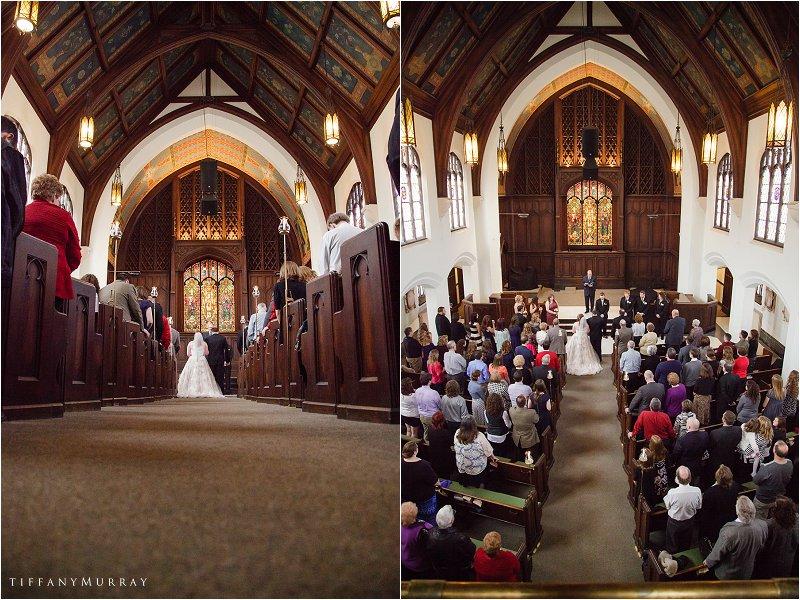 Mosaic Church Kehoe Center Wedding Mansfield Ohio